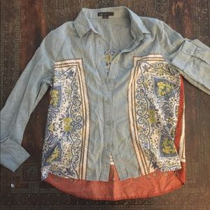 Maddy...K button up shirt from Anthropologie